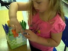 The Montessori Leaning Center has simple yet intriguing small motor skills practical life examples that can easily be done at home. Montessori Jobs, Montessori Toddler, Montessori Materials, Early Learning Activities, Indoor Activities For Toddlers, Learning Centers, Preschool Life Skills, Daycare Curriculum, For Elise