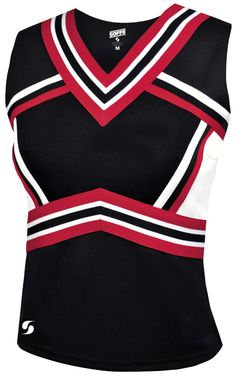 Cheerleading Uniforms, Cheer Uniforms, Cheer Outfits, Shell Tops, Elite Socks, Shirt Sleeves, Black Tops, Sweaters For Women, Pullover