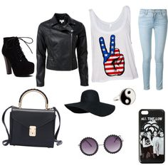 Untitled #3 by dianaden on Polyvore featuring polyvore beauty Accessorize Frame Denim