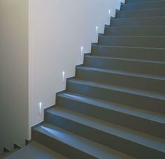 Crafty design ideas lighting for stairs staircase tag delta light and landings indoor to basement hallways . inspiring design lighting for stairs Staircase Wall Lighting, Deck Stair Lights, Stairs And Staircase, House Stairs, Staircase Design, Staircase Landing, Steel Stairs, Stair Design, Staircase Ideas