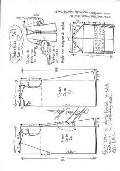 Casaco sobretudo fácil – Marlene Mukai Mccalls Patterns, Coat Patterns, Dress Sewing Patterns, Arabian Costume, Velvet Dress Designs, Black Suit Men, Collage Vintage, Tote Pattern, Pattern Drafting
