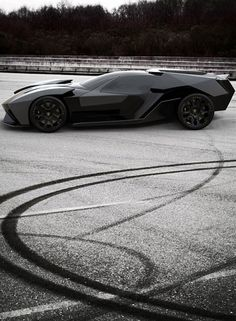 Lamborghini Ankonian (a. the sports version of the Batmobile) Lamborghini Ankonian, Jeep, Lamborghini Concept, Photo B, Performance Cars, Batmobile, Photos Of The Week, Hot Cars, Sexy Cars