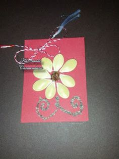 Martisor din seminte Class Decoration, Handmade Cards, Tableware, Craft Cards, Dinnerware, Tablewares, Diy Cards, Dishes, Place Settings
