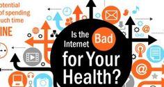 Infographie : Internet est-il mauvais pour votre santé ?