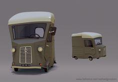 Raphael Grosjean -- https://www.behance.net/gallery/Vehicles/6211201