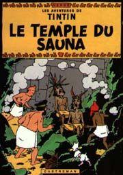 Tintin et le temple du sauna