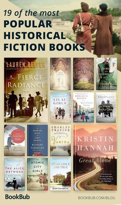 19 Incredible Historical Fiction Books, According to Readers 19 of the best historical fiction books — most popular picks from readers, perfect choices for book club! Book Suggestions, Book Recommendations, Best Books To Read, Good Books, Books To Read In Your 20s, Big Books, Book Club Books, Book Lists, Book Club List
