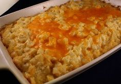 Copycat Cracker Barrel Hash Brown Casserole #recipe
