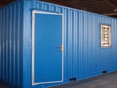 ideas for using shipping containers as houses Shipping Containers For Sale, Shipping Container Homes, Moving Containers, Storage Containers, Tall Cabinet Storage, Locker Storage, Corten Steel, Storage Spaces, House Design