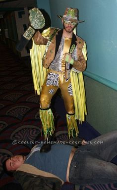 Awesome homemade female macho man costume pinterest macho man these awesome diy macho man randy savage costumes will make you yell oh yeah discover how to make these vibrant colorful and fun homemade costumes here solutioingenieria