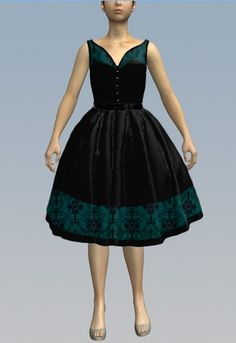 Retro Dress by Amber Middaugh