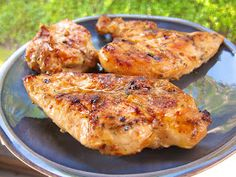 Plain Chicken: Sweet & Tangy Grilled Chicken