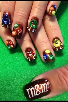 3-d m by Oli123 - Nail Art Gallery nailartgallery.nailsmag.com by Nails Magazine www.nailsmag.com #nailart
