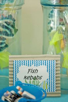 Under the Sea Birthday Party Ideas | Photo 9 of 27 | Catch My Party
