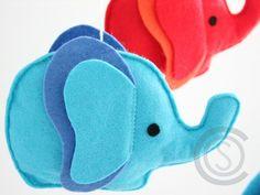 Mobile - Mobile für Babybett, Babymobile, Mobile, nursery - ein Designerstück von ColorsOfSoul bei DaWanda