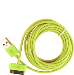 10ft iPhone/iPod/iPad cord - $24.00 // so your phone or device can still be handy while plugged in to the one outlet across the hotel room.