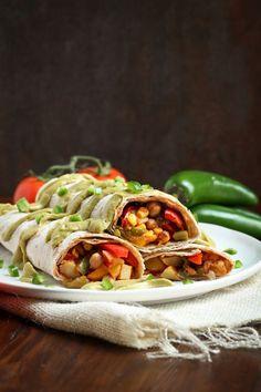 Easy Vegan Mexican Breakfast Burritos - The Vegan 8