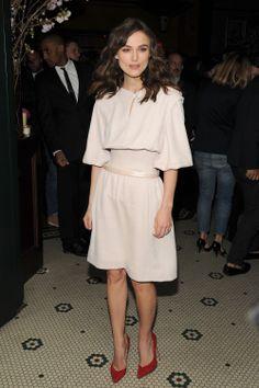 Keira Knightley en Chanel Couture, Nueva York  Famosas mejor vestidas de la semana | ActitudFEM