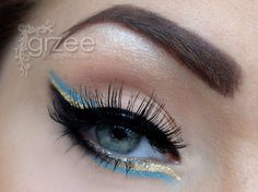 crazy eyeliner http://www.makeupbee.com/look_crazy-eyeliner_33096