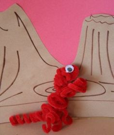 Make dinosaurs out of pipe cleaners.