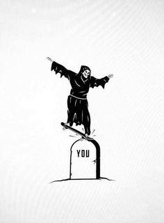 Image de death, you, and dead