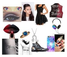 """I'm not a freak just unique"" by tyner1125 ❤ liked on Polyvore featuring Bellezza, Frends, LE VIAN, Bling Jewelry, P & Lot, Casetify and Converse"