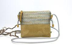 Umhängetaschen - Kleine Umhängetasche  - ein Designerstück von Irene-Kater bei DaWanda