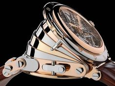 For the watch aficionado who can afford to spend a cool million dollars on a timepiece, Manufacture Royales Opera $1.2 million tourbillon watch, is a very meticulous piece of horological art. The musi