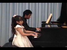 Young Virtuoso Umi Garrett plays Mozart Piano Concerto No.23 Mvmt. 3