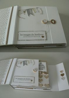 Fermeture des pages à l'intérieur de l'album