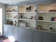 made to measure bookcases for lounges - Google Search