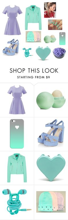 """""""by nan04"""" by nan04-11 ❤ liked on Polyvore featuring Elizabeth and James, Eos, Casetify, McQ by Alexander McQueen and Christopher Kane"""