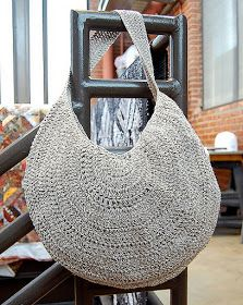 Free #crochet pattern summer #bag. Nice and simple.