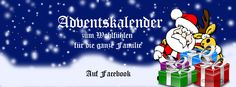 #Adventskalender online auf #Facebook für #Freunde