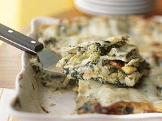 Garden-Style Lasagna | Zucchini and other summer squashes are abundant in backyard gardens, farmers' markets, and grocery stores this time of year. Try these recipes to use up your supply.
