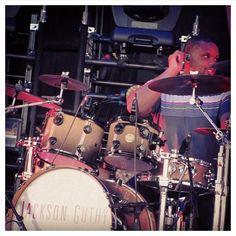 Drummer Brook Alexander Performing with singer/songwriter Jackson Guthy.