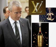 Meet the Pope of Fashion; Bernard Arnault, owner of Henessy, Louis ...