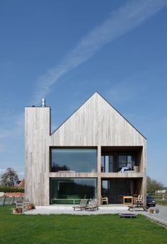 Private house in Lockeren, Belgium, by BLAF Architecten.