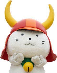 Hiko-Nyan, mascot of Shiga Pref. Japan