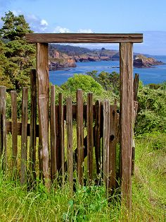 Redwood Gateway, Little River Cove, Mendocino by Rita Crane Photography, via Flickr