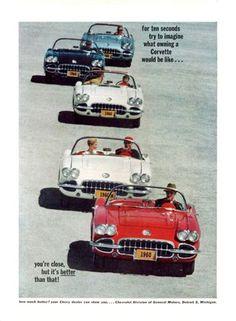 1960 Corvette advertisement