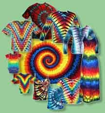 """Tie Dye Folding Techniques 
