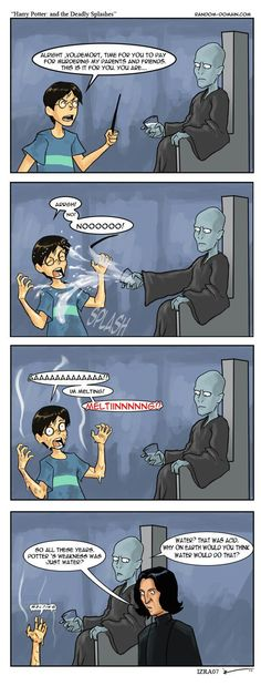 New Funny Comics Harry Potter Voldemort Ideas Harry Potter Comics, Harry Potter Puns, Harry Potter Universal, Harry Potter Tumblr, Hogwarts, Slytherin, Yer A Wizard Harry, Funny Comics, Funny Pictures