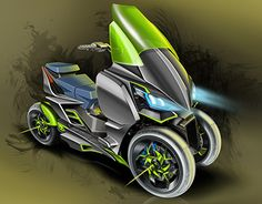 "Check out new work on my @Behance portfolio: ""kawasaki - Three wheels #K-Three"" http://be.net/gallery/47967877/kawasaki-Three-wheels-K-Three"