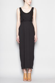Totokaelo - Shaina Mote - Knot Dress - Black