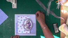 Step-by-step card-making tutorial on Card-making:  Matting and Layering.  Created by Christina Griffiths.