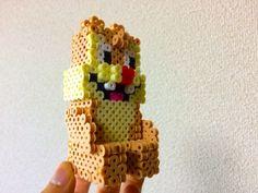 DIY 3D Dale perler beads by Danoichi - Chucky - Chip: https://de.pinterest.com/pin/374291419013927062/