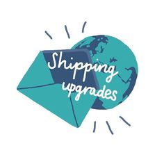 Shipping upgrades have been added to my Etsy shop for when you need a last minute gift and reassurance that it will get to you in time  . . . #shopsmall#shoplocal#shopindie#etsy#myetsy#shipping#presents#gifts#handdrawn#colours#teal#turquoise#logo#branding#design#procreate#procreatelettering#procreateapp#creative#typography#handdrawn