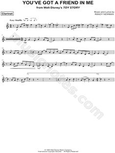 disney sheet music for clarinet free - Google Search