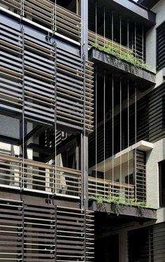 Mountain Moon Housing, Taipei City, Taiwan by Chin Architects
